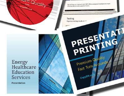 Copy DR | Prints | Flyers Booklets Blueprints | Signs