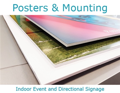 Posters & Mount Boards