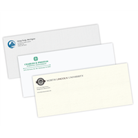 Stationery Envelopes Spot Color Raised Print