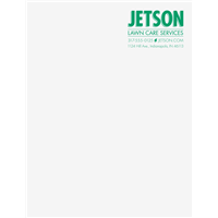 Letterhead Spot Color